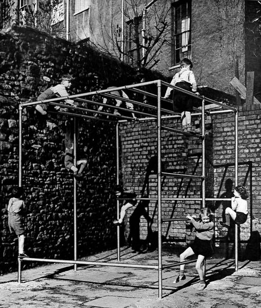 Before the age of specialized playground equipment there was Kee Klamp - a connection system that allowed structurally strong and creatively elegant frameworks to be constructed.