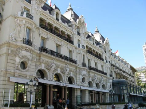 Hotel De Paris In Monte Carlo France Pinterest De