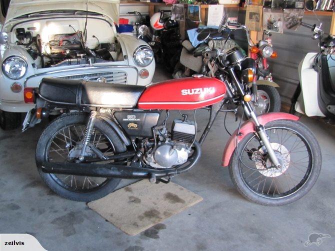 Suzuki GT50 1978 Trade Me バイク