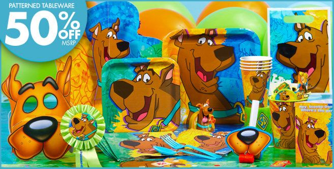 Scooby Doo Party Supplies - Scooby Doo Birthday - Party City