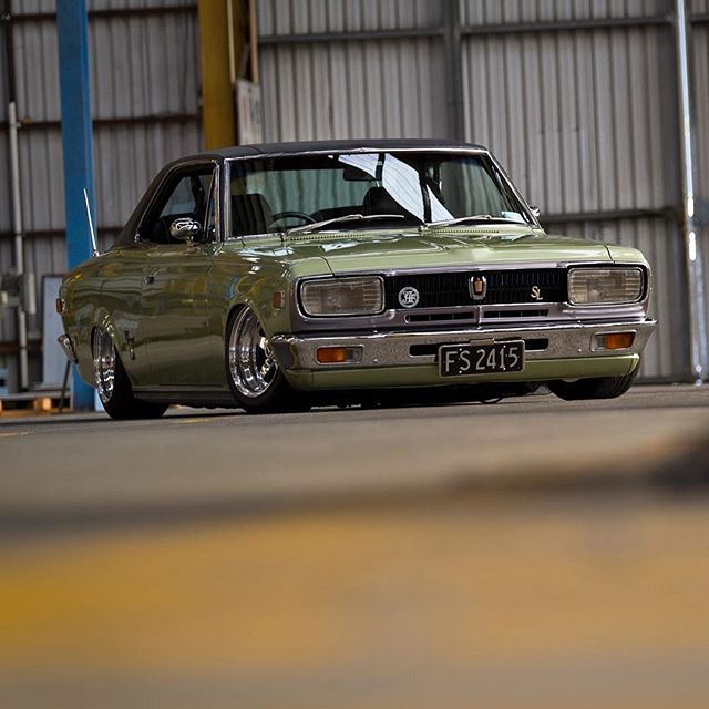 '60s Crown perfection. Check out more over at Speedhunters.com! #toyota #hardtop #airsuspension | Photo by @snoozinrichy