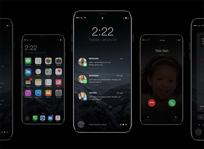 This iPhone 8 concept might be the most realistic yet  #iPhone8