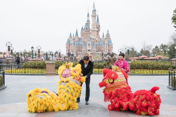 Chinese New Year 2017 Photos Merchandise At Shanghai Disneyland Chinese New Year 2017 Chinese New Year Disneyland