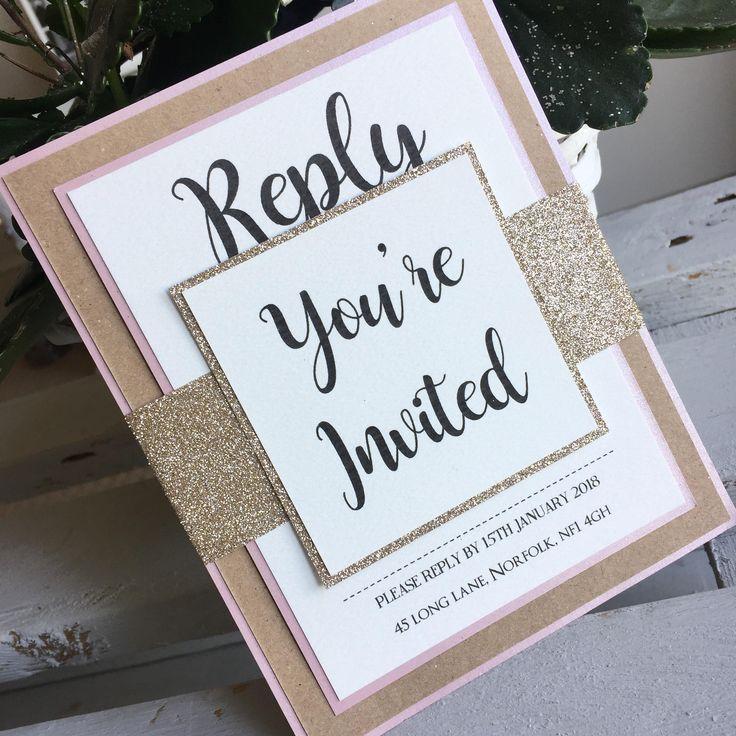 Youu0027re invited bundle wedding invitation Kraft