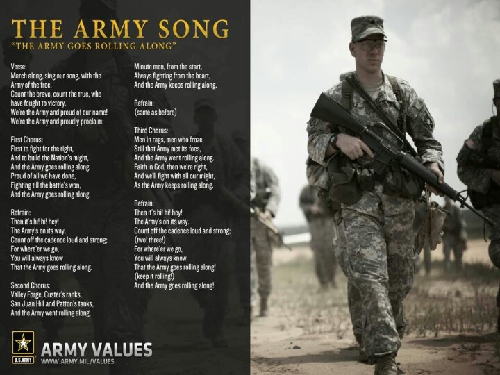 Lyrics containing the term: air force song by us military ...