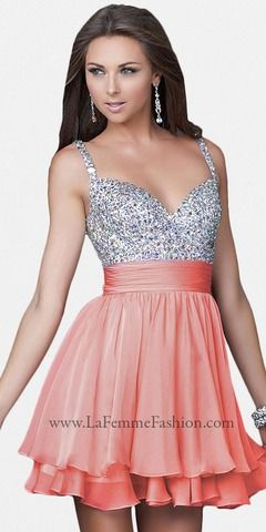 pink sparkly dresses for homecoming - Google Search