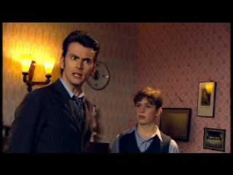 """The Doctor quotes Marry Poppins: """"...What gender is the queen?..."""" - Doctor Who, The Idiots Lantern Scene 5"""