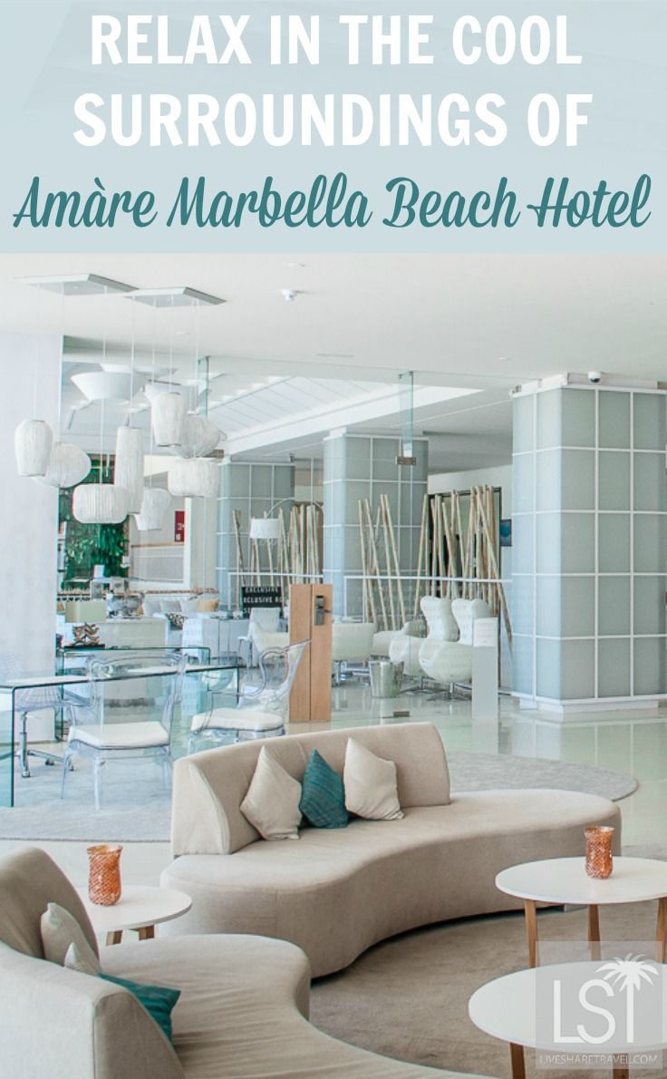 Amàre Marbella Beach Hotel features fabulous surroundings perfect for relaxing in, from the beach club, to its spa and rooms. Discover other reasons to visit in our review of the hotel.