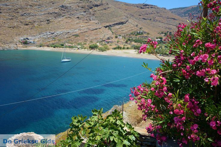 Poisses Beach of Kea Island, Cyclades, Greece