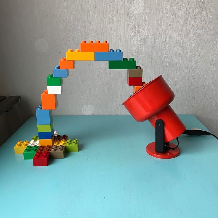 Spotlight off steroids. A lamp and some duplo legos. #spotlight #steroids #lamp #lampa #duplo #legoduplo #lego #funny