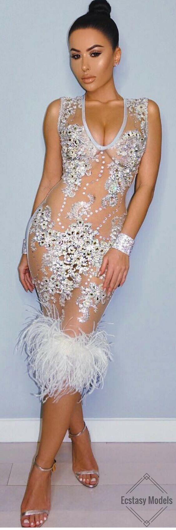 Sparkle // Dress by @daretobevintage // Fashion look by Amra Olević