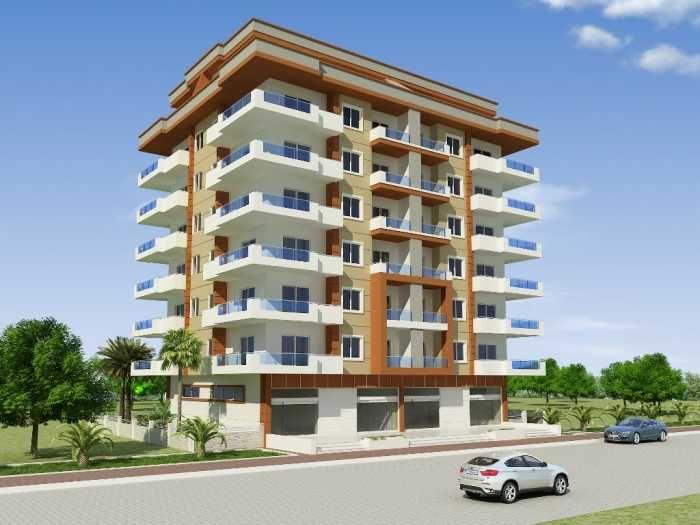 Апартаменты на пляже,Махмутлара , Аланья