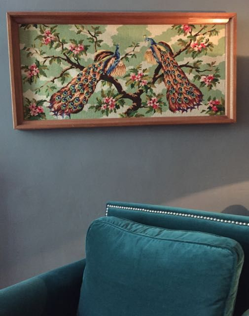 New peacock tapestry