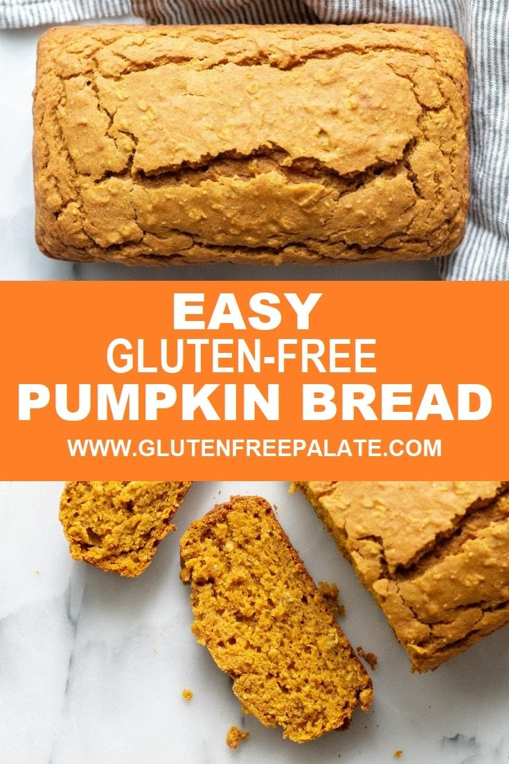 Easy Gluten-Free Pumpkin Bread that is great any time of the year! This easy, qu…
