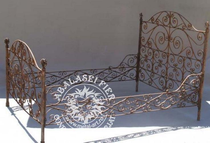 Paturi | Fier forjat garduri porti fier forjat bucuresti balustrade modele elemente fier forjat suceava