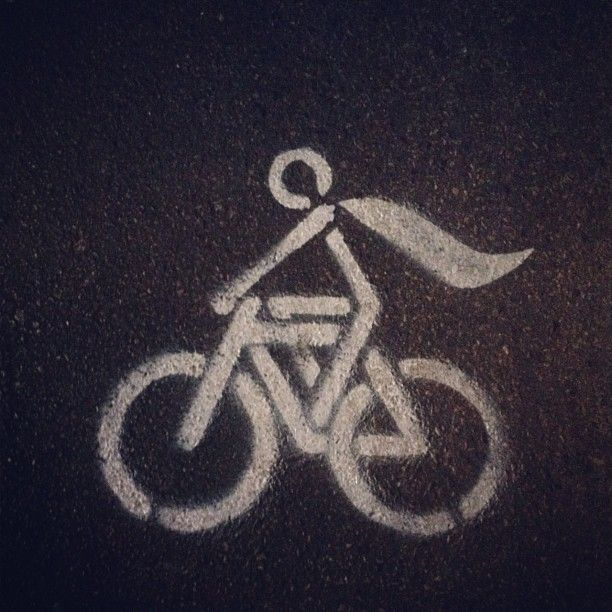 Be a superhero, ride a bike