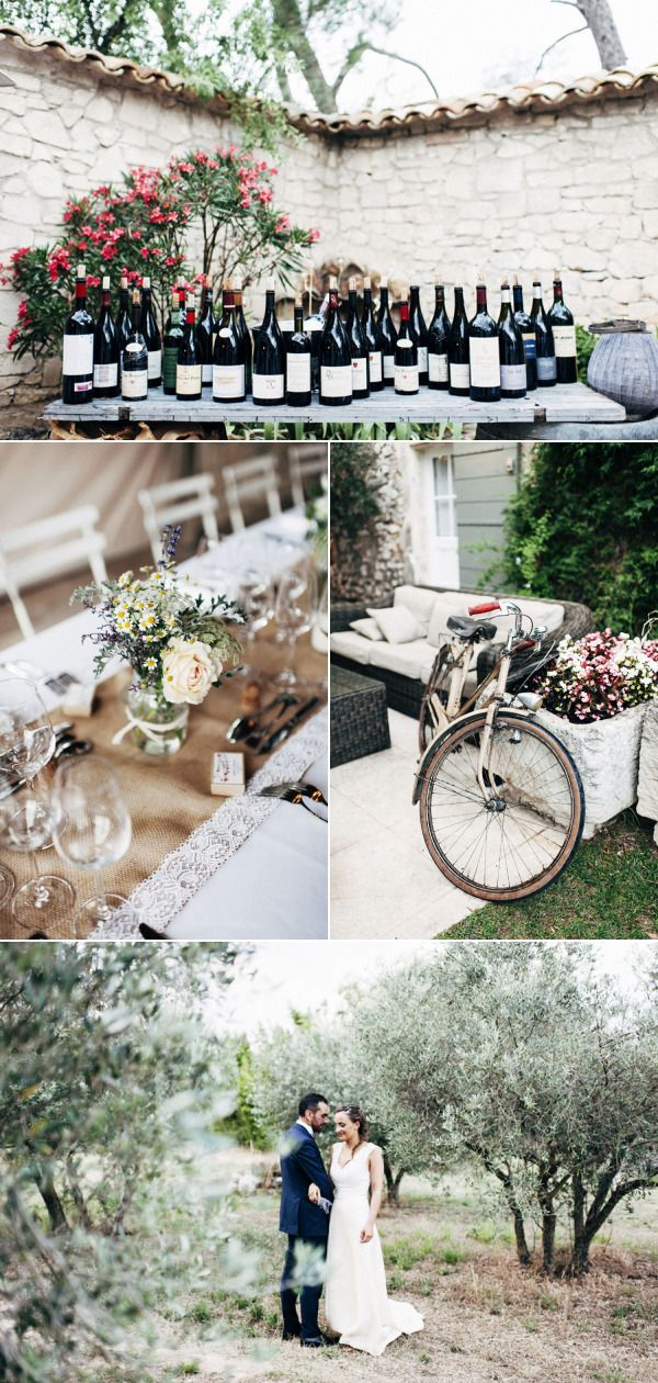Organic Rustic Provence Wedding – Style Me Pretty