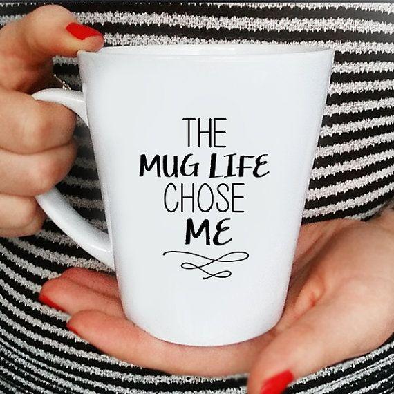 Mug Life Quote Coffee Mug Funny Mug Quote Mug by FranklyNoted