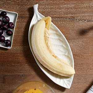 Banana Fluffer Nutters | Cooking Light #myplate #fruit #protein
