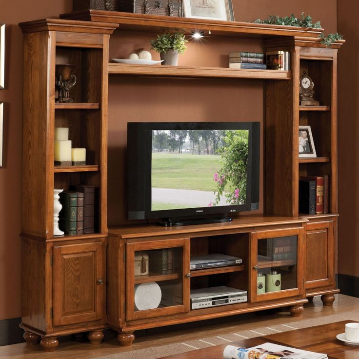 Acme furniture dita entertainment center in light oak