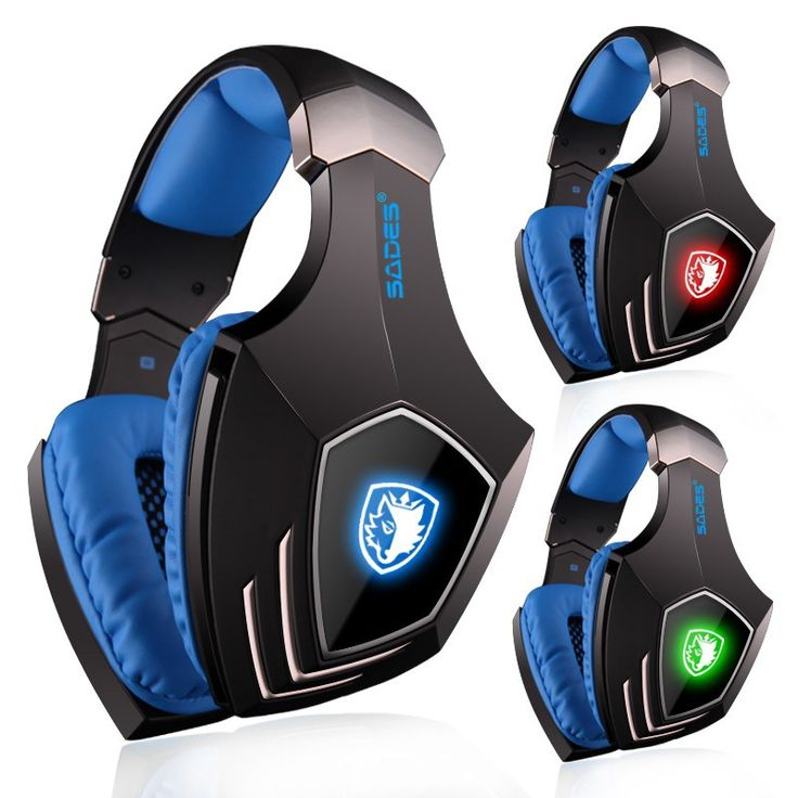 Cheap price US $50.00  SADES A60 Game Headset 7.1 Surround Sound Pro Gaming Headset Gamer Vibration Function Headphones Earphones with Mic for PC Game  Search here: DVR