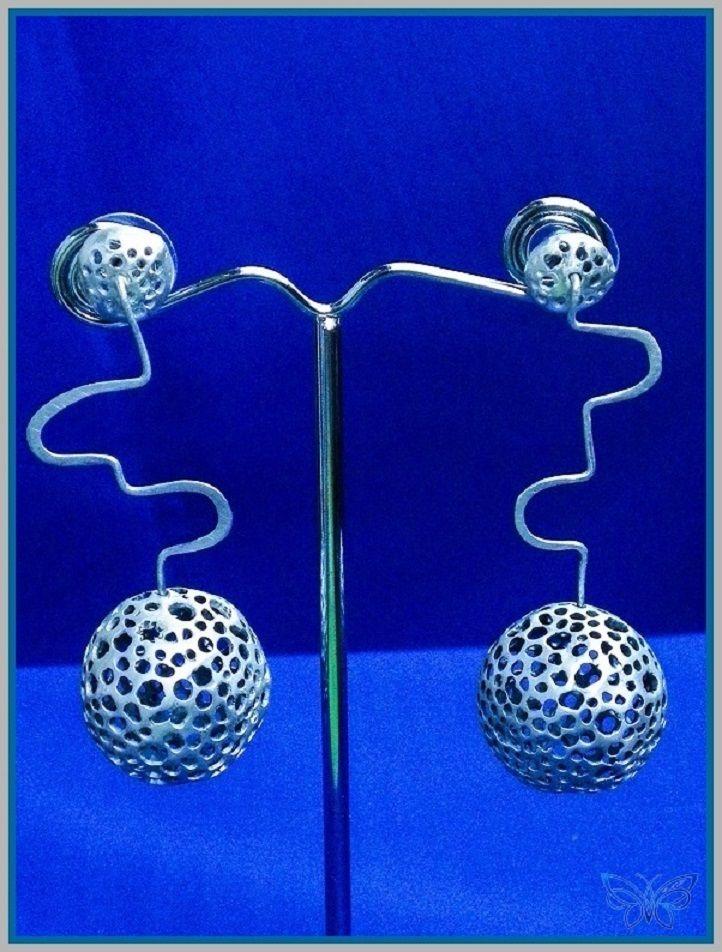 """""""Spheres""""   Sterling Silver Spheres"""