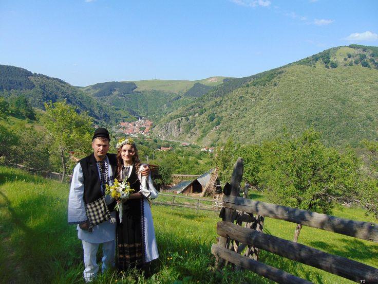 Constantin și Simona-Marilena. Nuntă tradițională în Căpâlna, Alba