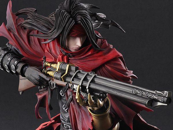 Dirge Of Cerberus Final Fantasy Vii Play Arts Kai Vincent Valentine Images Info Vincent Valentine Final Fantasy Final Fantasy Vii
