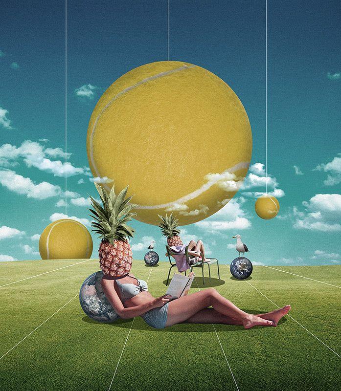Sweet Leisure by Dave Hänggi Found on wetransfer.com View more of his work on davehaenggi.com