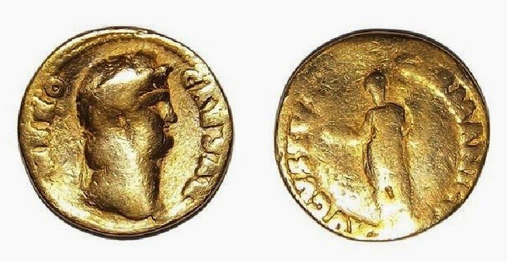 A rare gold coin bearing the image of Roman emperor Nero has been unearthed in Northumberland. The coin, bearing the image of Emperor Nero, dates from AD 64-65 [Credit: Vindolanda] It is the first gold coin to be found at the Roman fort site of Vindolanda where archaeologists have been digging for more than 40 years.