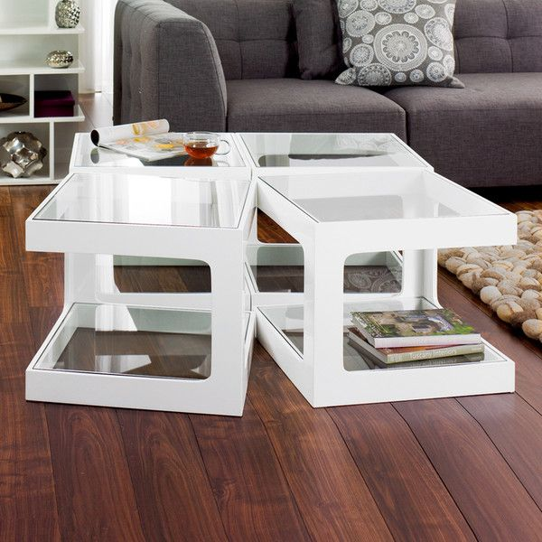 These Modular Side Tables Are Extra Versatile As They Can Be Used On Their  Own Or Group 4 Together To Make A Stunning Coffee Table.