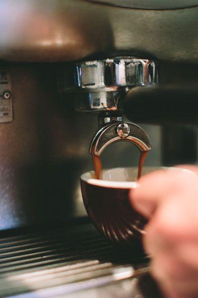 Delicious espresso coffee