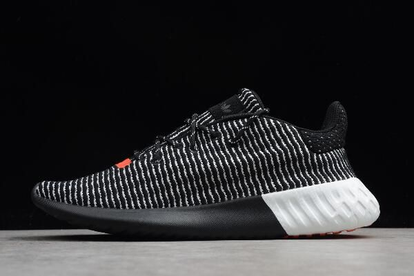 2018 adidas Tubular Dusk Shoes Core Black Cloud White Solar Red AQ1185 9d190c0ac