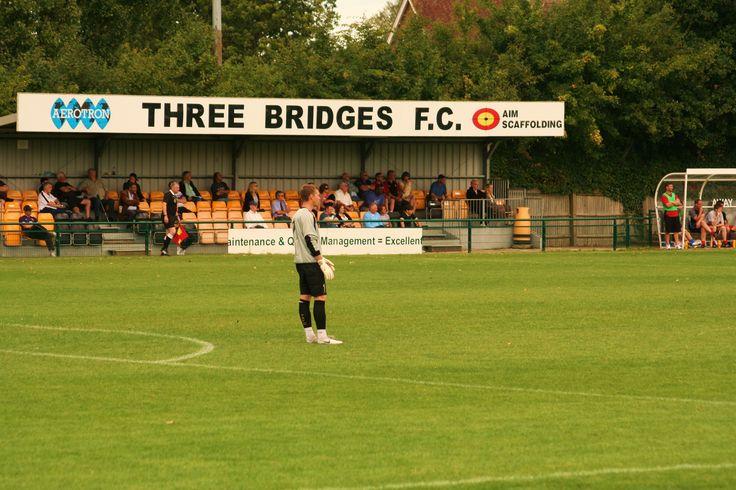 Three Bridges Football Club in Crawley, West Sussex