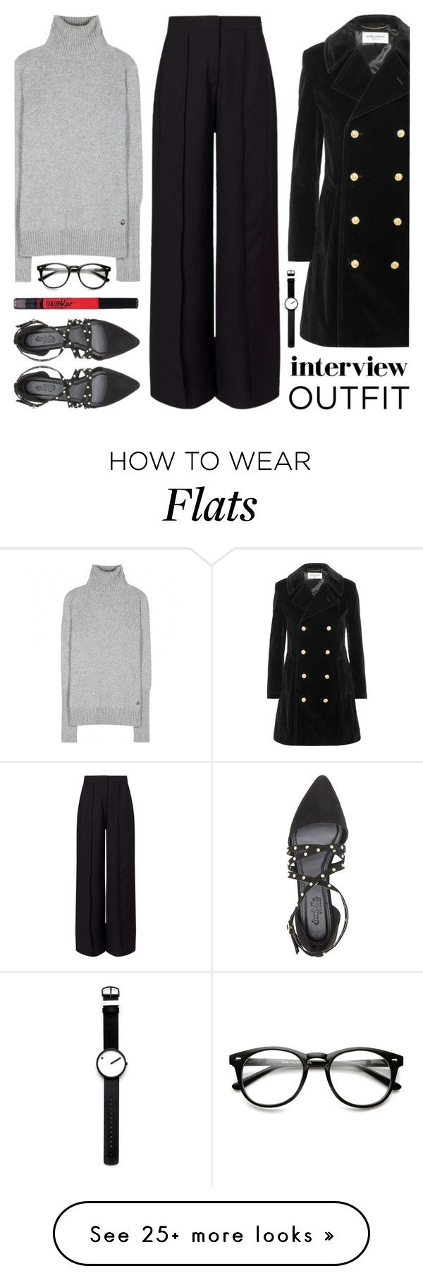 """""""60-Second Style:  Job Interview"""" by lgb321 on Polyvore featuring Loro Piana, Miss Selfridge, Yves Saint Laurent, Charlotte Russe, Rosendahl, Maybelline, jobinterview and 60secondstyle"""