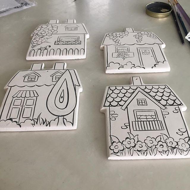 ❤️Canım evlerim❤️ #elişi #modernçini#çini#ev#house#ceramic#tahrir#sıraltı #homesweethome #home#walldecor#wallart