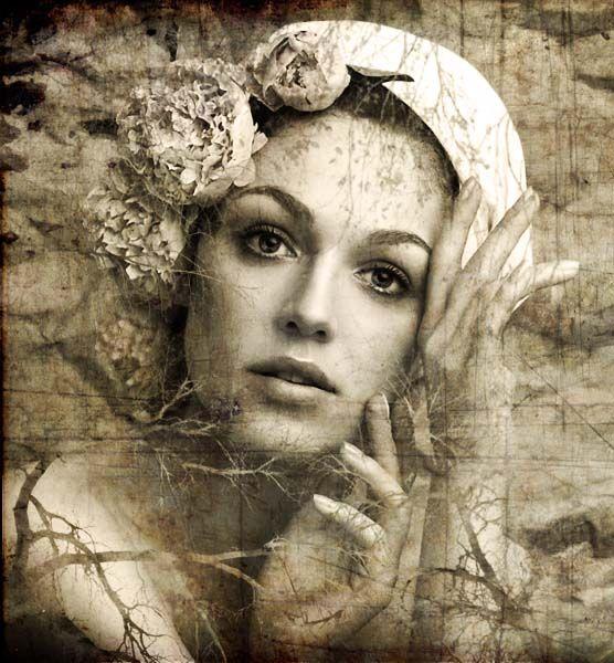 Пейзажный портрет в Фотошоп