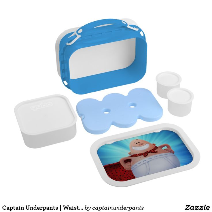 Captain Underpants | Waistband Warrior On Roof. Producto disponible en tienda Zazzle. Product available in Zazzle store. Regalos, Gifts. #lonchera #LunchBox