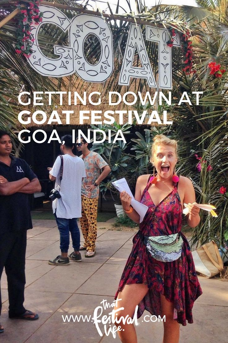 Getting down on on the beaches of Goa at the debut GOAT festival