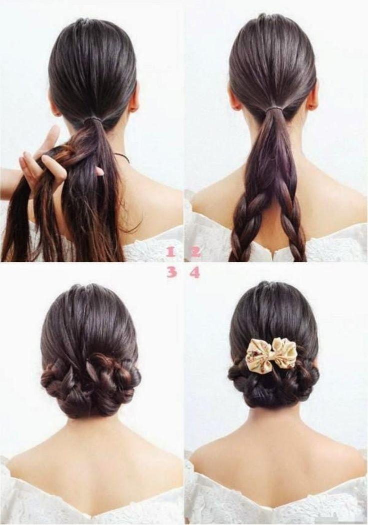6 tutoriels photos pou rapprendre à se coiffer différemment! - Trucs et Astuces - Trucs et Bricolages