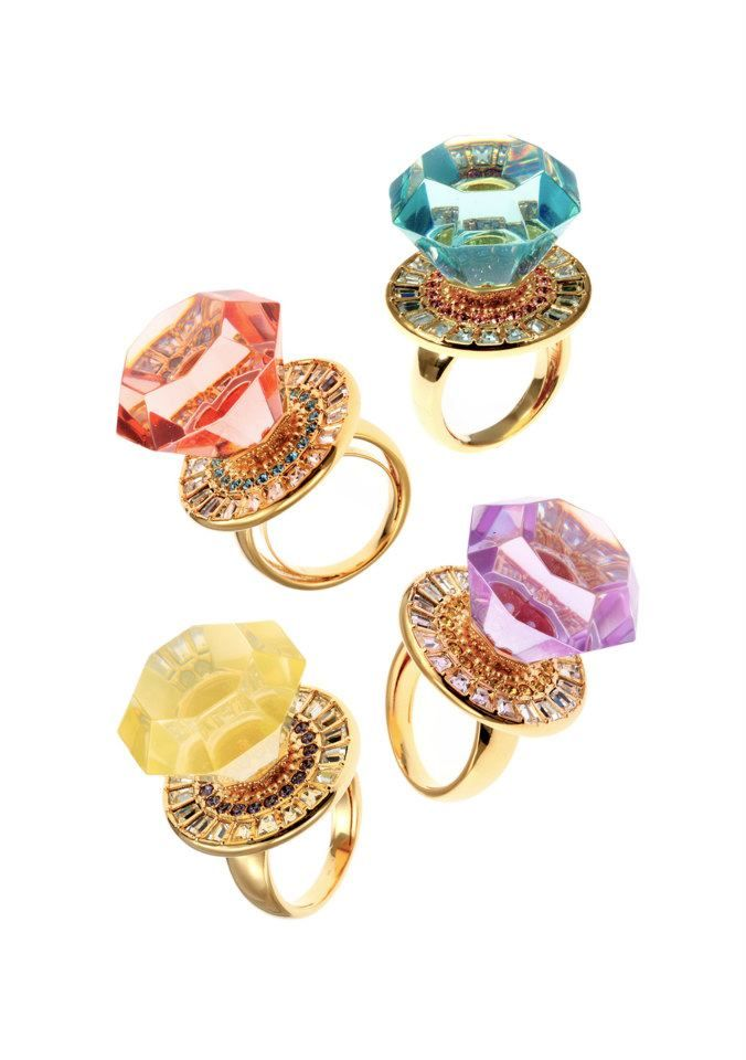 Frivolous Fabulous - Jeweled Candy Rings Frivolous Fabulous Sweet