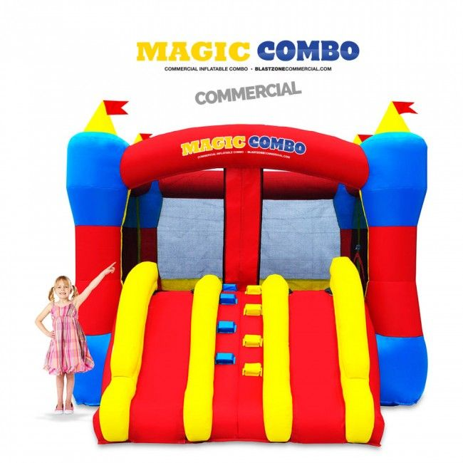 Magic Combo 10 Commercial Inflatable Bouncer w Slide