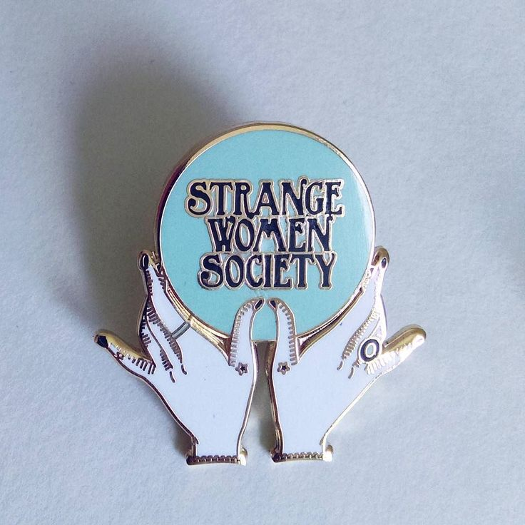 Pin update currently all pins are sold out. Initiation pins will be re-stocked in June and any remaining strange sisterhood pins will be listed Saturday at 12pm EST. New designs coming soon!! Thanks everyone!  by strangewomensociety