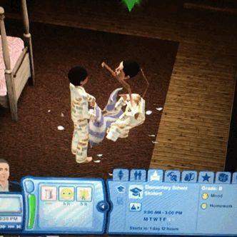 simsgonewrong:  something happened to my child at his slumber party i really think i need an exorcism