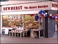 Dewhurst the Butcher - I worked in one on the deli for a while in the 80's