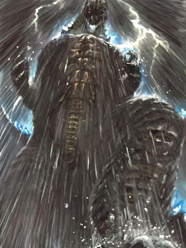 Godzilla, the one true King.