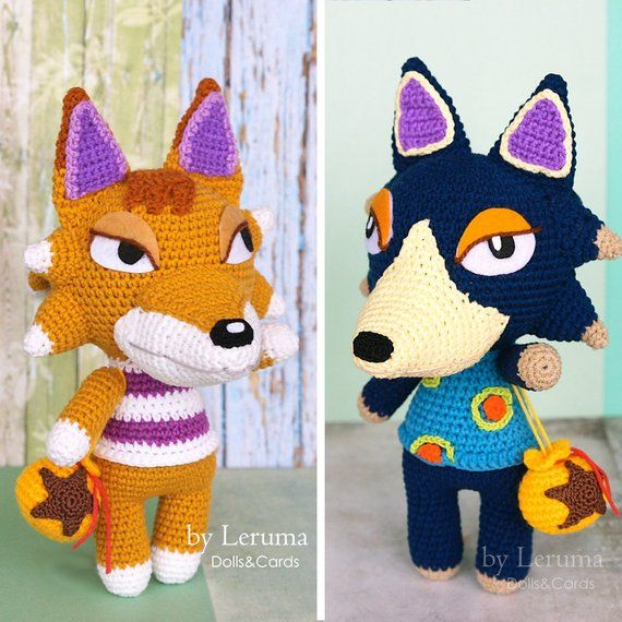 MADE TO ORDER, Wolf Villager From Animal Crossing, Animal