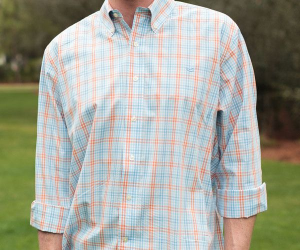 Southern Marsh Collection The Cahaba Grid Dress Shirt