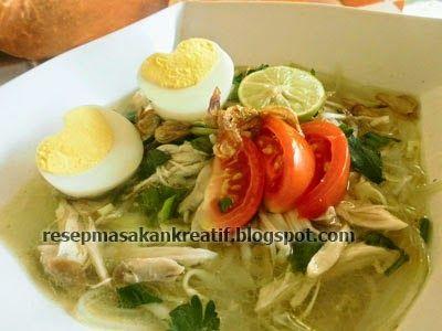 Resep Soto Ayam Bening | Resep Masakan Indonesia (Indonesian Food Recipes)