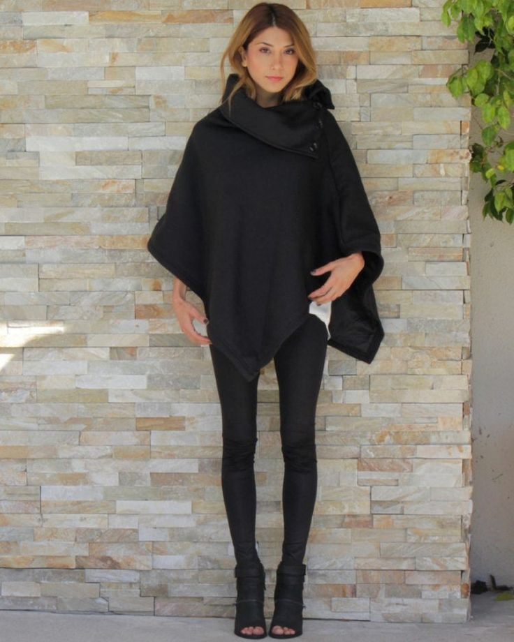 best 25 poncho clothing ideas on pinterest winter poncho poncho outfit and ponchos and wraps. Black Bedroom Furniture Sets. Home Design Ideas